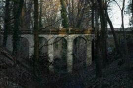 Ein Viadukt in Potsdam? Die Teufelsgrabenbrücke in Bornstedt