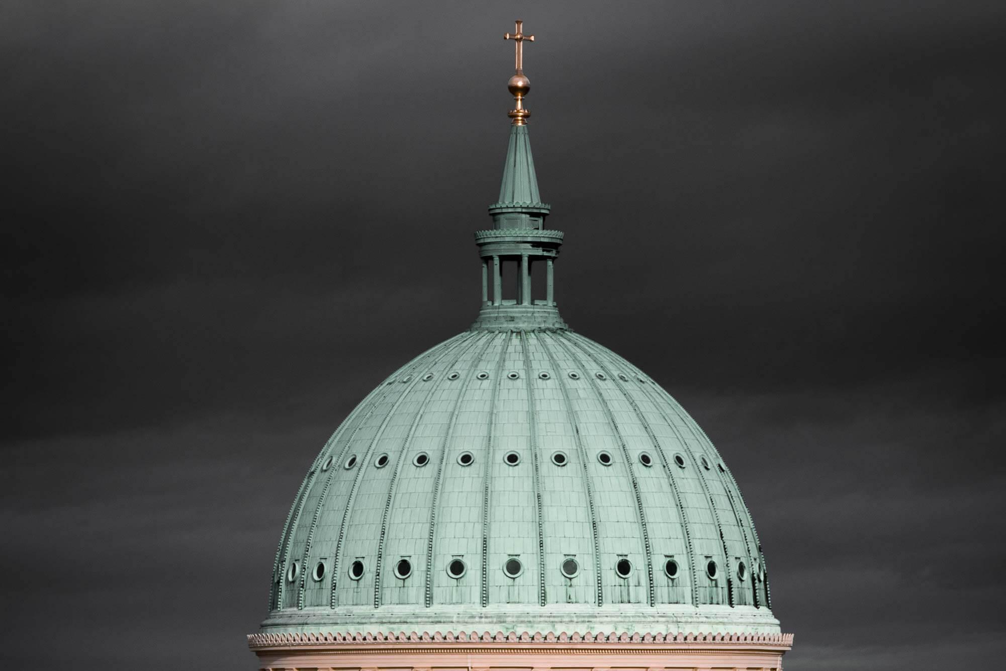 Grauer Himmel über Potsdam