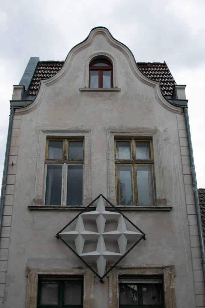 Sterne der alten Fachhochschule in der Pasteurstraße